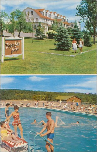 travel vacation ny advertising roadtrips pools postcards leisure poolside vacations inns motels midcentury lodges motorinns