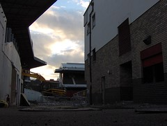 Highbury Demoliton (lcfcian1) Tags: old football demolition highbury arsenal demolished