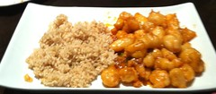 ZESTY ORANGE CHICKEN YIPING RESTAURANT SAN RAMON CA. (ussiwojima) Tags: california food orange chicken dinner lunch sanramon yipingrestaurant
