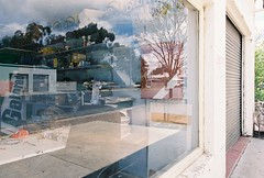 ||  | (jamiehladky) Tags: reflection window glass shop canon store fuji superia dream double nsw shutter roller fujifilm mechanic glazing ironmongery dense bungendore xtra jamiehladky hladky