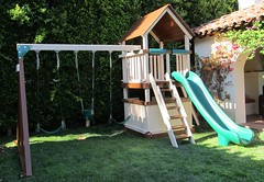 IMG_1163 (Swing Set Solutions) Tags: set play swings vinyl slide structure swing solutions playset polyvinyl