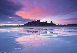 Dawn unveiling at Bamburgh