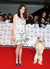 National Television Awards 2013 held at the O2 arena - Arrivals Featuring: Ashley,Pudsey