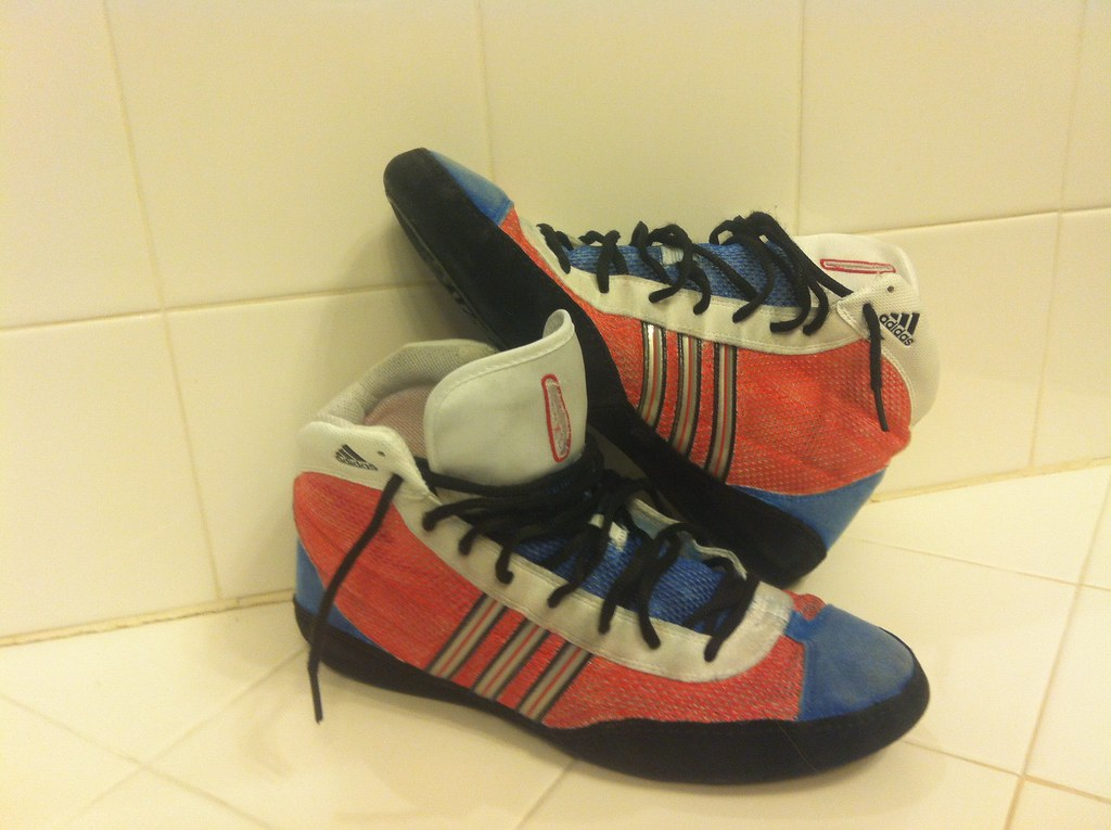 Rare Adidas Combat Speeds Wrestling Shoes