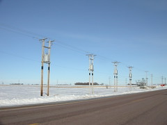 Stretched out substation [Explored] (NDLineGeek) Tags: