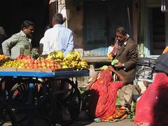 Pushkar, Rajasthan, India (east med wanderer) Tags: india vegetables fruit market pushkar rajasthan theindiatree worldtrekker
