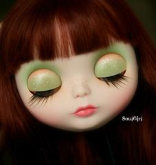 Fern's eyelids :)