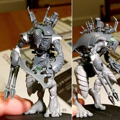 Tearing some pages straight out of @cagn02 book for this #miniaturemonday #darkeldar #talos. #warmongers. Based on the #painengine kit @son_of_volmer bought me, and giant/ #carnifex kits I've had lying around for waaaay too long. (Modern Synthesist) Tags: dark games 40k workshop gw eldar warhammer40k gamesworkshop wh40k tyranids warmongers darkeldar modernsynthesist