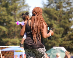 A Day At The Park (daddydell28) Tags: hair woman park lady braids nikond40 bradleyimages sacramentocalifornia soccer brownskinned blackwoman