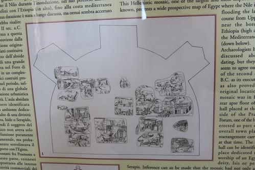 Palestrina (Praeneste) the Great Nilotic Mosaic c. 200 BC