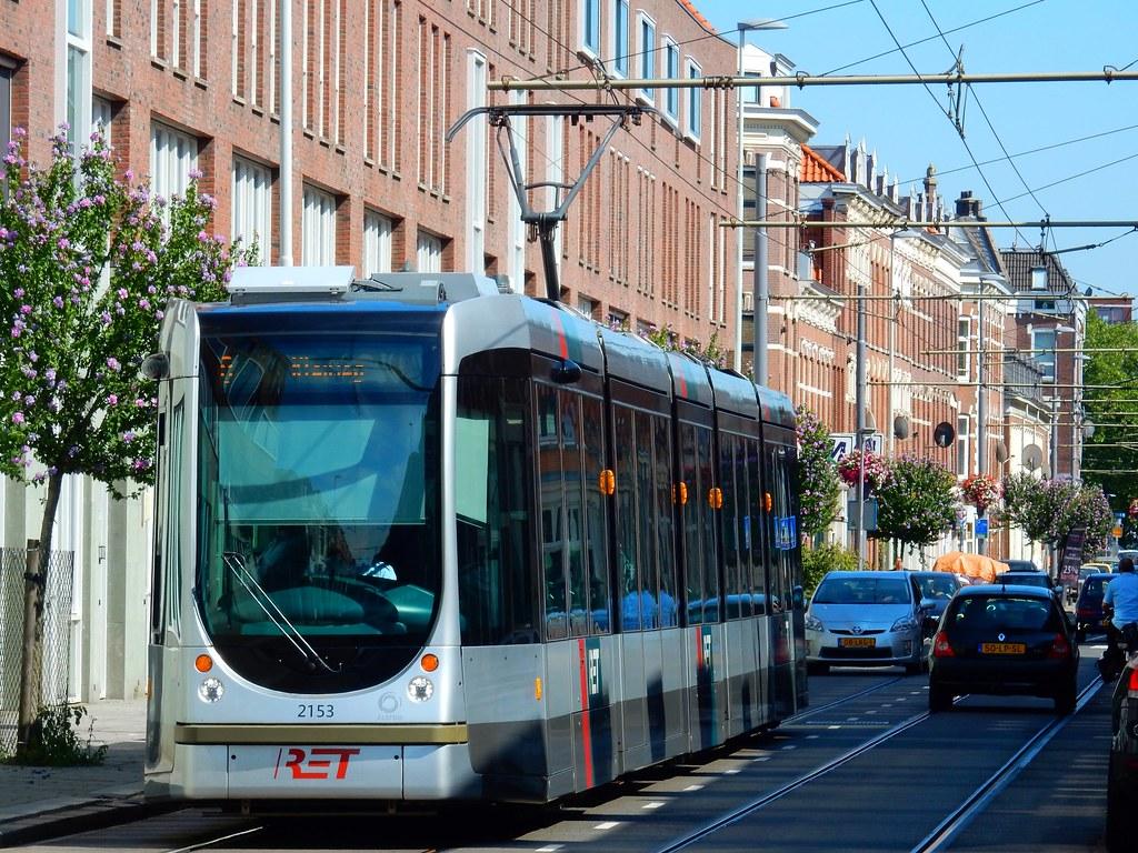 alstom citadis 2153 sander_sloots tags ret rotterdam alstom citadis zaagmolenstraat oude noorden tram