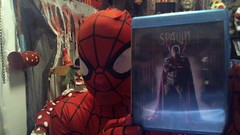 Spidey - ( Presents ) - Spawn - The Movie Review  - (Bradley Thomas Enfield) Tags: batman demons comedy humor movies clowns superheros hell satan halloween people entertainment monsters creepy sketch rants funny