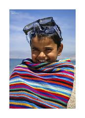 Playeando... (ngel mateo) Tags: ngelmartnmateo ngelmateo playa balerma elejido almera andaluca espaa nio sonrisa gafasdebucear toalla colores cielo mar arena mojado alegra optimismo andalusia spain beach boy smile snorkelling wet towel colors sand sea sky joy optimism