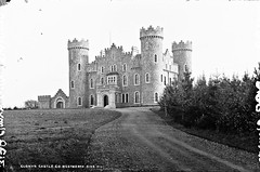 Clonyn Castle, Delvin, Co. Westmeath (National Library of Ireland on The Commons) Tags: robertfrench williamlawrence lawrencecollection lawrencephotographicstudio thelawrencephotographcollection glassnegative nationallibraryofireland clonyncastle delvin ireland brinsleymcnamara thevalleyofthesquintingwindows solomonschonfeld countywestmeath baronofdelvin