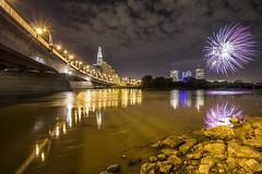 Goldeyes Firework Display (AertformePhoto) Tags: fireworks winnipeg baseball shawstadium redriver theforks museumofhumanrights skyline city wpg mb canada
