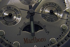 Watch Focus Stack 1 (Sterling67) Tags: kenko extension tubes marlboro watch silver