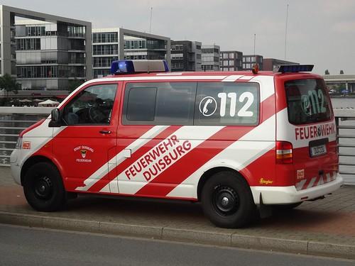 """Duisburg: Volkswagen Transporter """"Feuerwehr"""""""
