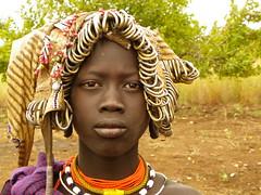 Mursi Woman (Ethiopia) (davidevarenni) Tags: tribe trib mursi etiopia ethiopia