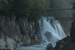 Nature's Force (AllanS.) Tags: long exposure larga exposicin seda agua waterfall cascada puente bridge nature naturaleza water ro river chile sur