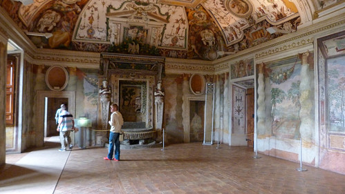 Tivoli - Villa d'Este, frescoes MUZIANO, reception room