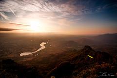 Dawn II. (Tristan K.) Tags: dawn morning sunrise daybreak valley lake river argens roquebrunesurargens var frenchriviera landscape height above panorama sunshine summer rocherderoquebrune outside nature sky