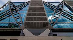 _DSC5591 (durr-architect) Tags: offices railway terminus london foggo associates cannon place development bridge street station structural engineering steel beams vertical trusses underground