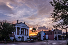 City Hall, Conway, SC (Greg Kintz) Tags: conwaysc sunset hdr cityhall clocktower downtown smalltown southcarolina