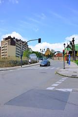 El Cristo (Jusotil_1943) Tags: 26052016 carretera seales trafico semaforo iglesia