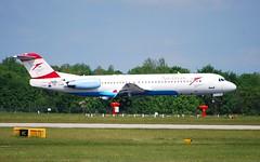 OE-LVM Fokker 100 Austrian A/L (corrydave) Tags: 11361 fokker fokker100 austrian oelvm