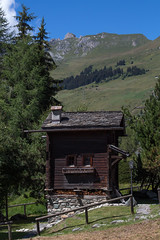 Chalet for one (MattLawrence) Tags: verbier switzerland chalet valais alps