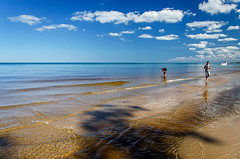 Tropical Feel (Tom Gill.) Tags: lake greatlakes lakemichigan beach sand water indiana indianadunesnationallakeshore centralbeach summer