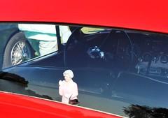 A friendly wave... (Pim Stouten) Tags: arden british car auto wagen pkw vhicule macchina burgzelem qeii elizabeth waving wuiven jag jaguar xk fhc coup