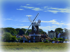 Cley-next-the-sea Norfolk  Explore (Jane.Des) Tags: windmill coastal path cley norfolk