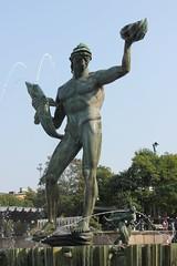Posejdon (magro_kr) Tags: gteborg goteborg goeteborg gothenburg szwecja sweden sverige vstragtaland vastragotaland fontanna statua rzeba rzezba fountain statue sculpture