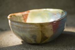 small mulit colored porcelain bowl (karenchristine552) Tags: utata:project=goarts ceramics clay pottery universitycity westphiladelphia