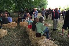 09 chatting and eating (Margaret Stranks) Tags: hiddensqu4reminifestival colnstaldwyns gloucestershire uk fundraiser charity harambeeschoolskenya