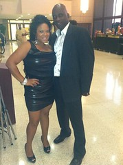 Tisha Lee and Darryl Banks