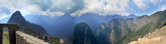 Panorama from Machu Picchu (pollylew) Tags: mountains peru andes machupicchu huaynapicchu incasite