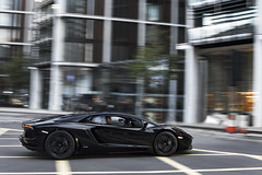 Black on Black. (Alex Penfold) Tags: auto street camera black colour london cars alex sports car sport mobile canon photography eos photo cool paint flickr image awesome flash picture super spot knightsbridge exotic photograph spotted hyper rims lamborghini supercar spotting exotica sportscar 2012 sportscars supercars lambo penfold sloane spotter hypercar 60d hypercars aventador lp700 alexpenfold