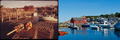Rockport, MA 1973 & 2011 (usepagov) Tags: change environment rockport thennow documerica stateoftheenvironment