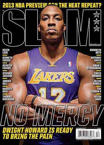 Dwight Howard SLAM Magazine cover