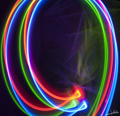 Light Painting (J.delaO) Tags: blue light red verde green art azul rojo paint arte darkness paining oscuridad