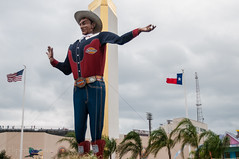 Big Tex (Flipintex Fotos. Back for now) Tags: big state fair bowl tex cotton fotos flipintex