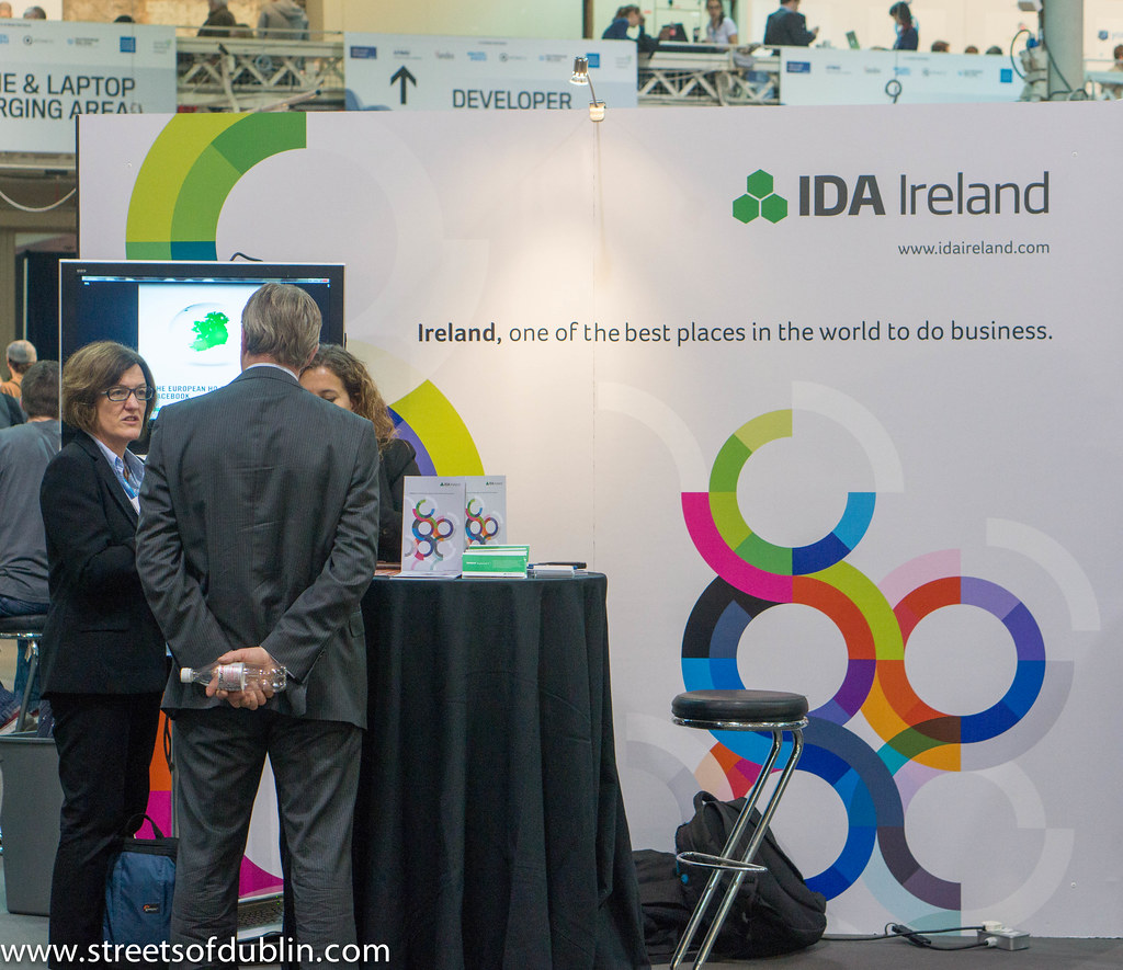IDA Ireland: Second Day Of The2012  Web Summit In Dublin