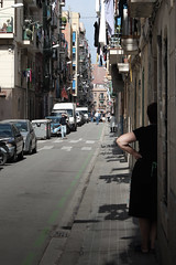 CALLE EN LA BARCELONETA | STREET IN THE 'BARCELONETA' (maulegon) Tags: barcelona street architecture calle arquitectura barceloneta carrer arquitecture