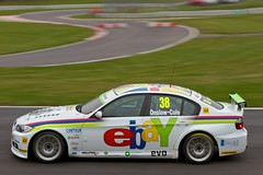 Tom Onslow-Cole takes pole in the Ebay Motors' BMW 320si (Gary8444) Tags: car championship october bmw british touring poleposition motorsport 2012 btcc brandshatch tomonslowcole