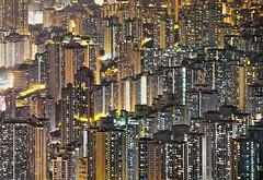 45,000/km2 (www.isphoto.lv) Tags: city windows night skyscraper tin lights living district peak hong kong wong kowloon impressive shai crowded density