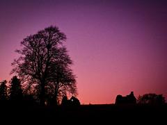 purple sky (pamelaadam) Tags: winter building castle digital scotland december aberdeenshire fotolog 2008 historicscotland strathdon kildrummycastle thebiggestgroup