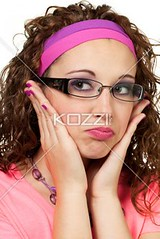 young woman in glasses (peoplegapa2012) Tags: portrait woman white sexy love girl beautiful beauty face lady female mouth hair studio fun person sadness glasses model hands pretty sad skin head young makeup romance lips health 80s maybe attractive pout romantic surprised accessories brunette economy isolated headband shocked shout
