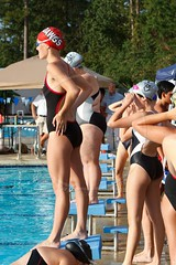 PAC high school swim meet (some NOLA) Tags: race swimming swim louisiana competition highschool mandeville meet